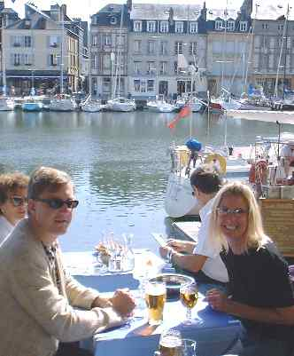 Lunch at Honfleur