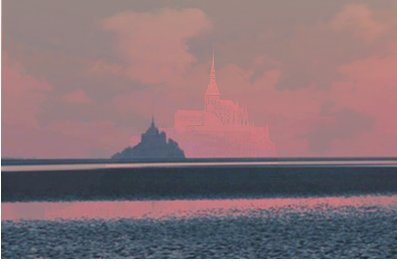 Mont St Michel. Click to enlarge